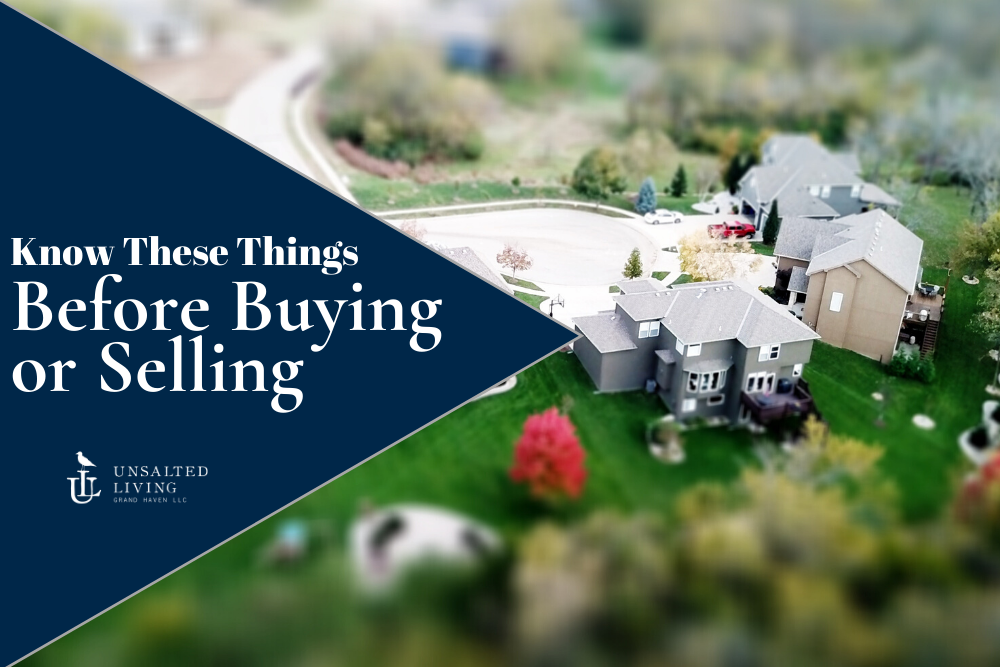 Top Things You Should Know Before Buying or Selling a Home in West Michigan